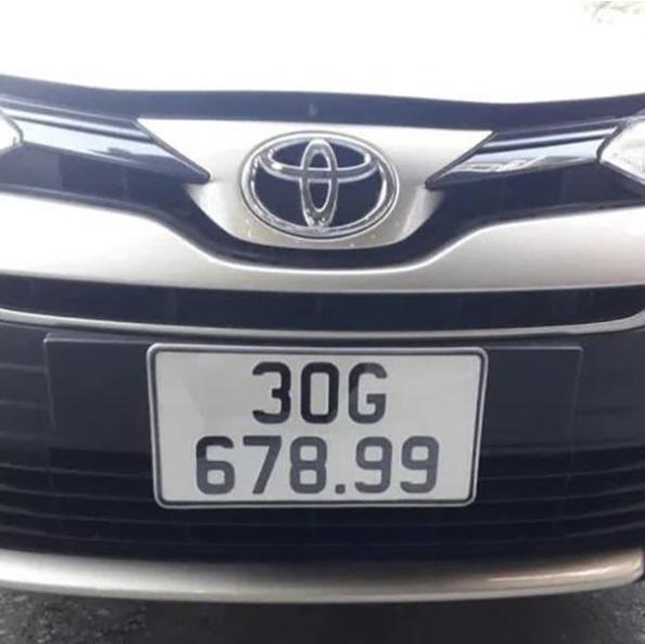 """Toyota Vios 2020 biển số """"lộc phát mãi mãi"""" được chủ xe rao bán hơn 800 triệu đồng"""